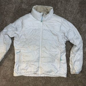 North Face 700 Count White Down Jacket